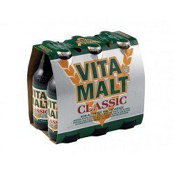 Boisson maltée sans alcool, VITA MALT classic, pack de 6x33cl