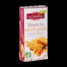 Biscuit muesli fruits Bio BISCUITERIE LA SABLESIENNE, étui de 55g