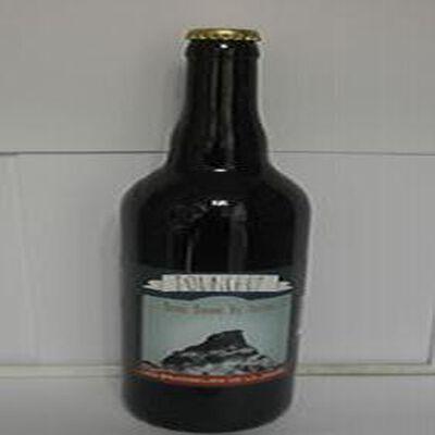 Bière brune de Lozère Pounchut LES BRASSEURS DE LA JONTE 6% Vol., 33cl