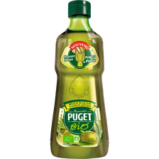 Huile d'olive vierge extra bio PUGET, 475ml