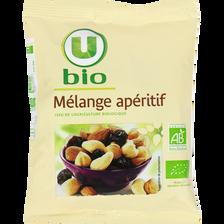 Mélange de fruits et de graine U BIO, sachet de 100g