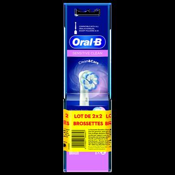Oral B Brossettes Sensitive Oral B Power 2x2
