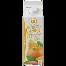 Pur jus réfrigéré orange et mangue U, 1l