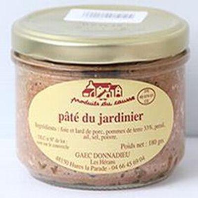 Pâté du jardinier, Produits du causse, 180g