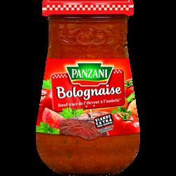 Sauce bolognaise PANZANI, pot de 210g