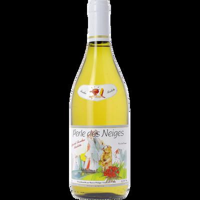 Vin Des Terroirs de France blanc spéciale raclette Perle des Neiges, bouteille de 75cl