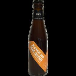 Bière blonde bio sans gluten pur malt VEZELAY, 4,6°, bouteille de 25cl