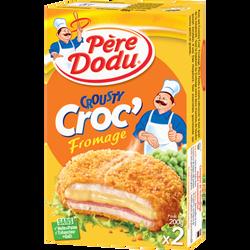 Crousty Croc'fromage, PERE DODU, 2 pièces, boîte, 200g