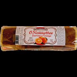 Nonnettes au miel fourrées orange FORTWENGER, 150g