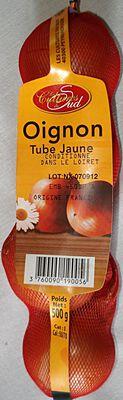 Oignon tube jaune 500g