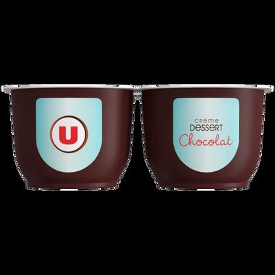 Crème dessert au chocolat U, 4x125g