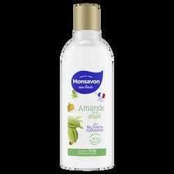 Douche lait hydratant amande douce MONSAVON, 300ml