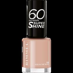 Vernis à ongles 60 seconds super shine colour block 708 kiss in the nude RIMMEL,  8ml