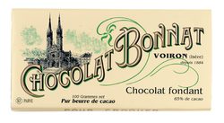 CHOCOLAT NOIR FONDANT 100G - BONNAT CHOCOLATIER