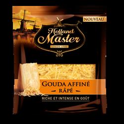 Fromage lait pasteurisé gouda rapé 33%mg HOLLAND MASTER 150g