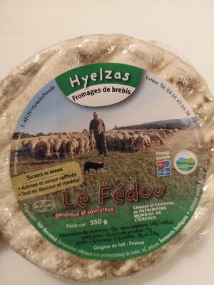 Le Fedou au LAIT cru de brebis Hyelzas 28%MG,  A LA PIECE