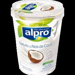 Yaourt végétal soja noix de coco ALPRO, 500g