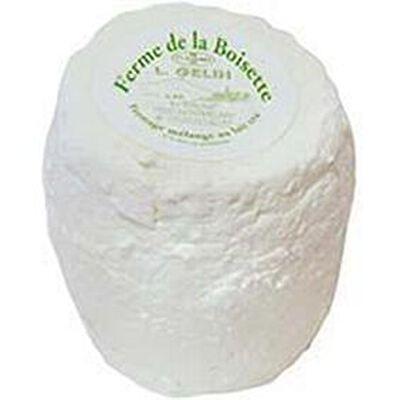 Le Boisettin égoutté au lait cru vache chèvre FERME DE LA BOISETTE, 37%MG, 340g