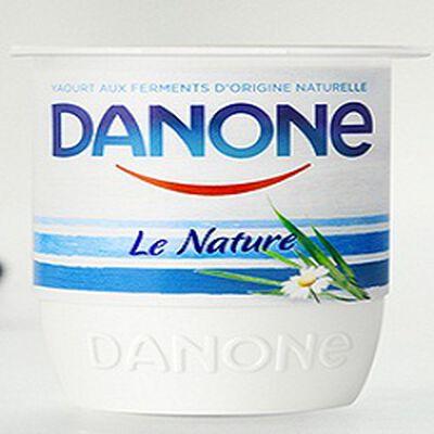 Yaourt ferme nature, DANONE, 4x125g