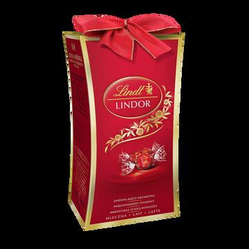 Lindt Chocolat Au Lait Avec Mini Cadeau Lindor Lindt, 75g
