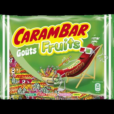 CARAMBAR aux fruits, 320g