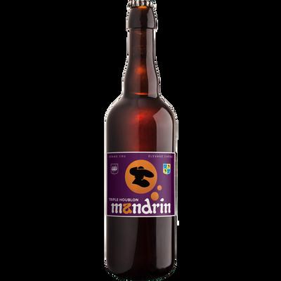 Bière triple houblon MANDRIN 6.5°, bouteille 75cl