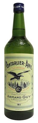 PONTARLIER ANIS 45° - Sans Sucre - 1 litre
