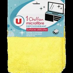 Chiffon en microfibre dépoussiérant surfaces délicates U