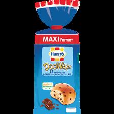 Doowap Doowy aux pépites de chocolat au lait HARRY'S, 12 unités