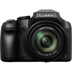 """Appareil photo numérique bridge PANASONIC lumix dc-fz82ef-k-capteurmos 18,1mp-zoom optique 20x1200mm-video 4k-viseur hauterésolution-écran lcd tactile 3""""-photo 4k"""