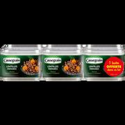 Cassegrain Lentilles Cuisinées Aux Oignons Et Carottes , 5 Boites + 1 Offert Soit 2,4kg