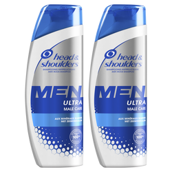 Shampooing male care HEAD&SHOULDERS 2x250ml