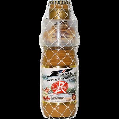 Soupe de poissons + croûtons + rouille, transformée en France, pot de890g