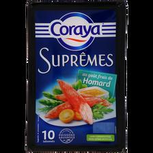 Les coraya suprêmes goût homard, CORAYA, 10 unités de 156g