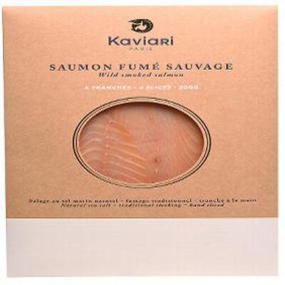 saumon fumé 4 tranches kaviari