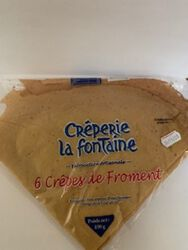*CREPES FRAICHES FROMENT X6 LC