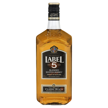 Label 5 Blended Scotch Whisky Label 5, 40°, 70cl