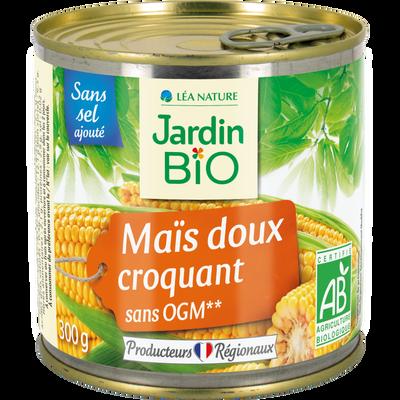 Maïs sans sel ajouté 300 g JARDIN BIO