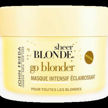 John Frieda Masque Intensif Éclaircissant Go Blonder Sheer Blonde John Frieda, Potde 250ml