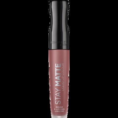 Rouge à lèvres stay matte liquid lip colour 220 fatal kiss RIMMEL, nu