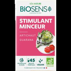 Gélules végétales stimulant minceur bio BIOSENS x45