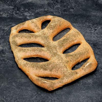 Fougasse garnie aux lardons, 1 pièce, 400g
