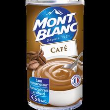 Crème dessert au café MONT BLANC, 570g