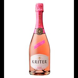 Vin mousseux rosé KRITER, 75cl
