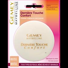 """Poudre compacte """"Dernière touche"""" n°03 beige doré - blister MAYBELLINE"""