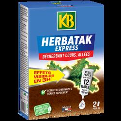 Désherbant KB HERBATAK EXPRESS, 270ml, pour cours et allées