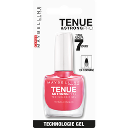 """Vernis à ongles """"Tenue et strong"""" n°180 rosy pink - blister MAYBELLINE"""