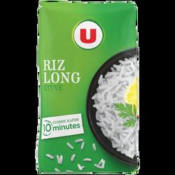 Riz Long cuisson rapide U, sachet de 2kg