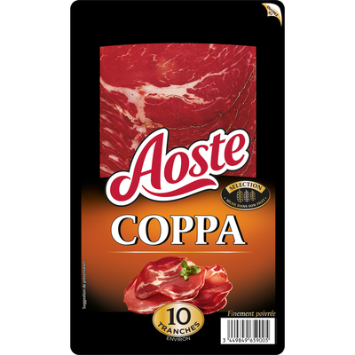 Coppa AOSTE, 10 tranches, 100g