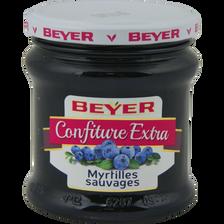 Confiture de myrtilles, BEYER, pot de 370g